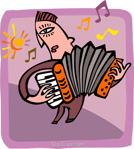 music Royalty Free Vector Clip Art illustration peop2963