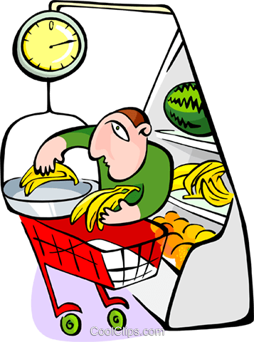grocery store Royalty Free Vector Clip Art illustration peop2973