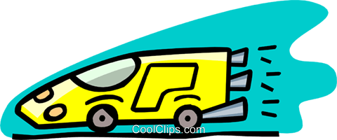 Racing Car Vektor Clipart Bild tran0904