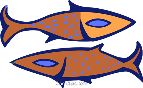 fish Royalty Free Vector Clip Art illustration anim1881