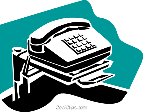 telephone concept Royalty Free Vector Clip Art illustration busi1536