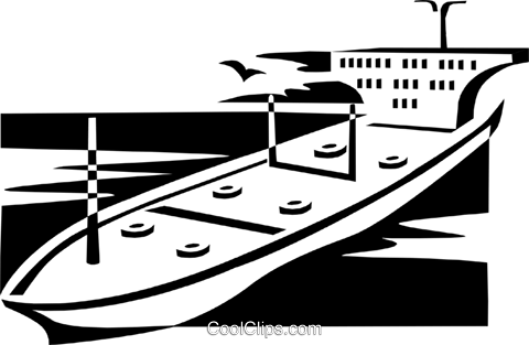 ocean liner Royalty Free Vector Clip Art illustration indu0869