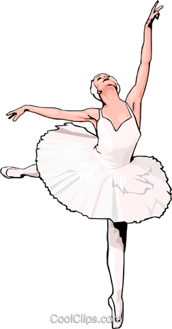ballet Royalty Free Vector Clip Art illustration peop3009