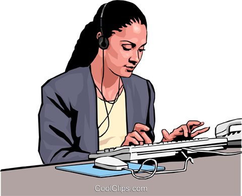 businesswoman Royalty Free Vector Clip Art illustration peop3012
