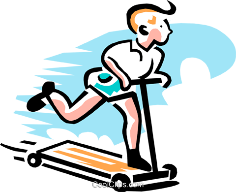 boy on riding toy Royalty Free Vector Clip Art illustration peop3057