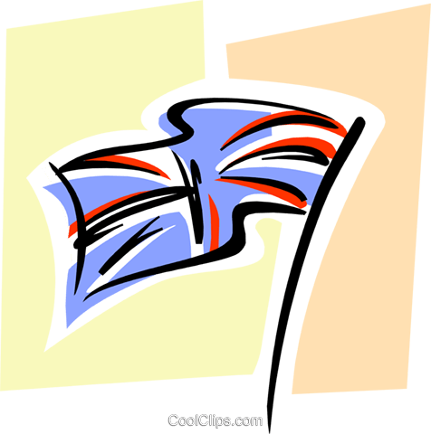 British flag, Union Jack Royalty Free Vector Clip Art illustration flag0003