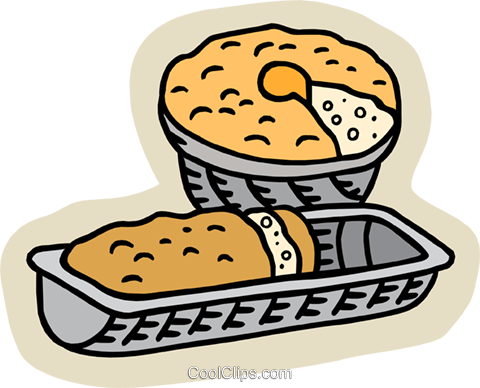 Loaf of bread Royalty Free Vector Clip Art illustration food1051