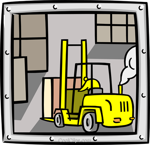 warehouse Royalty Free Vector Clip Art illustration indu0898
