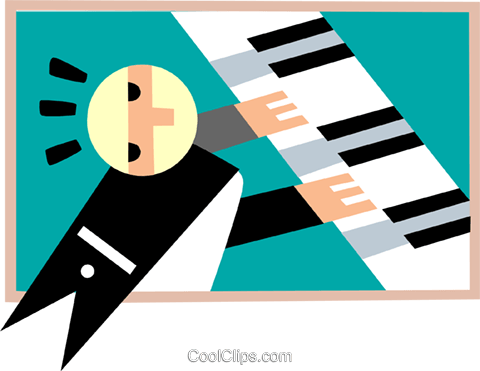 music Royalty Free Vector Clip Art illustration peop3133