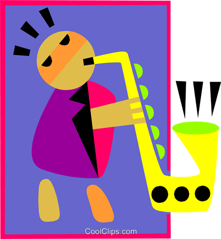 music Royalty Free Vector Clip Art illustration peop3135