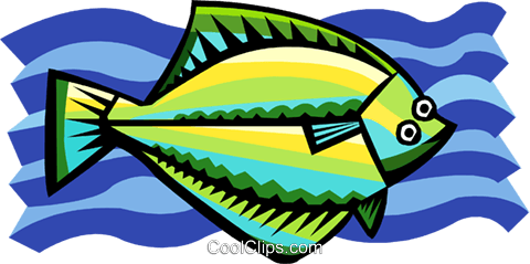 fish Royalty Free Vector Clip Art illustration anim1962