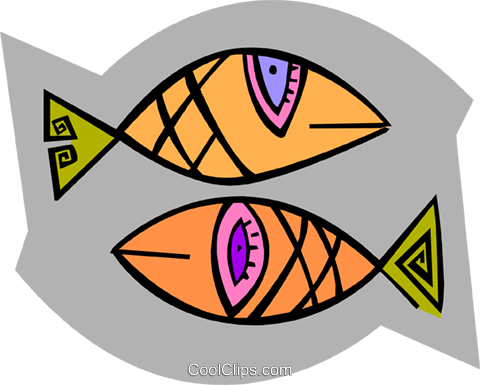 fish Royalty Free Vector Clip Art illustration anim1966