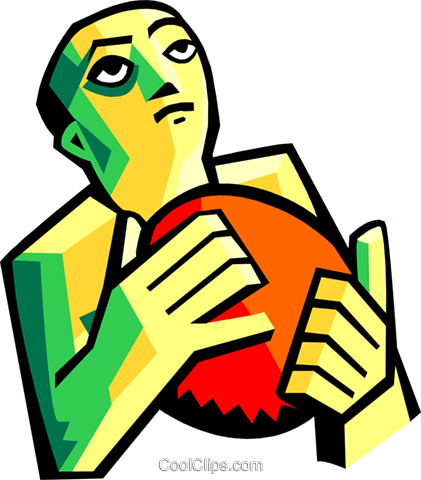 sports Royalty Free Vector Clip Art illustration peop3147