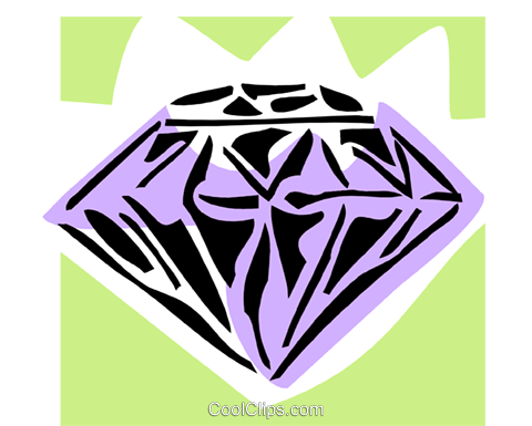 diamond Royalty Free Vector Clip Art illustration busi1597