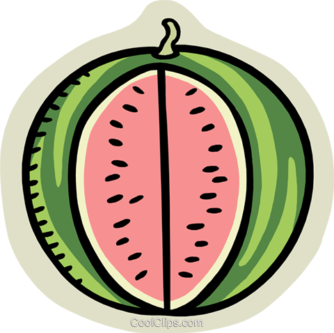kiwi Royalty Free Vector Clip Art illustration food1093