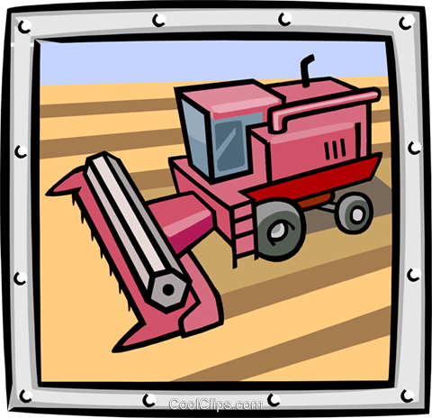 bulldozer/construction Royalty Free Vector Clip Art illustration indu0931