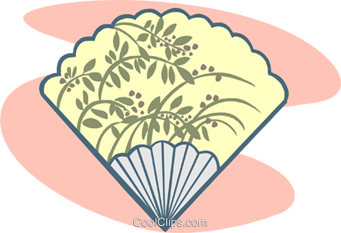 fan Royalty Free Vector Clip Art illustration symb0093