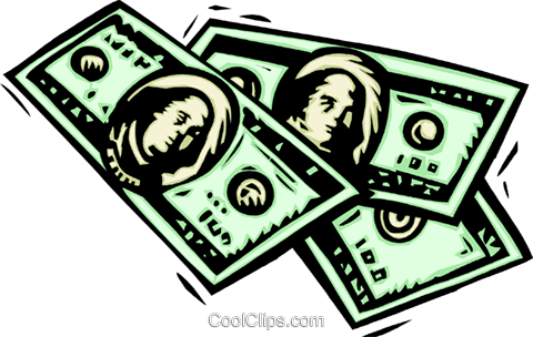 business finance money Royalty Free Vector Clip Art illustration busi1599