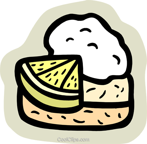 food and dining/pie Royalty Free Vector Clip Art illustration food1100