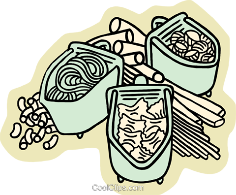 pasta Royalty Free Vector Clip Art illustration food1113