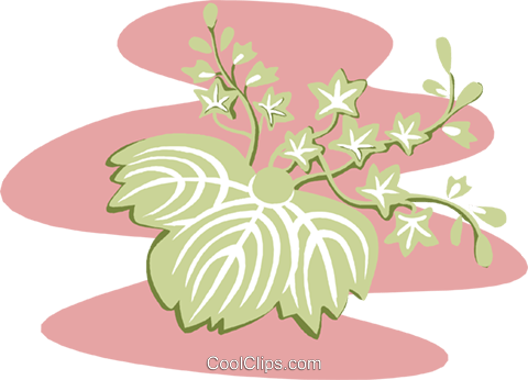 plant Royalty Free Vector Clip Art illustration natu0889