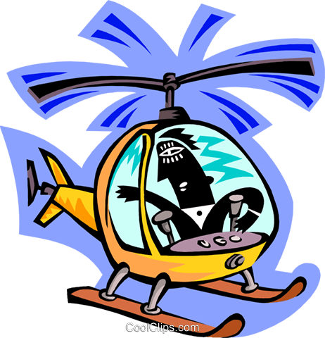 helicopter pilot Royalty Free Vector Clip Art illustration peop3311
