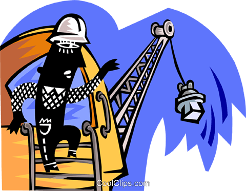 construction worker Royalty Free Vector Clip Art illustration peop3323