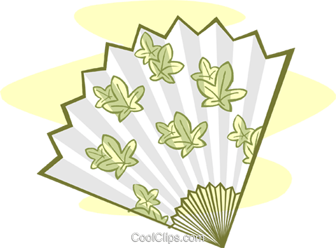 fan Royalty Free Vector Clip Art illustration symb0106