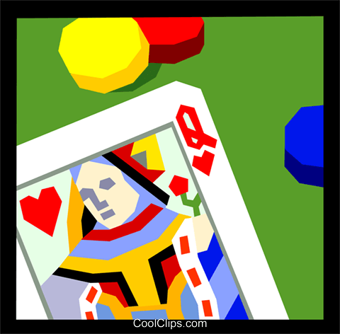 Casinos/Gaming Royalty Free Vector Clip Art illustration ente0131
