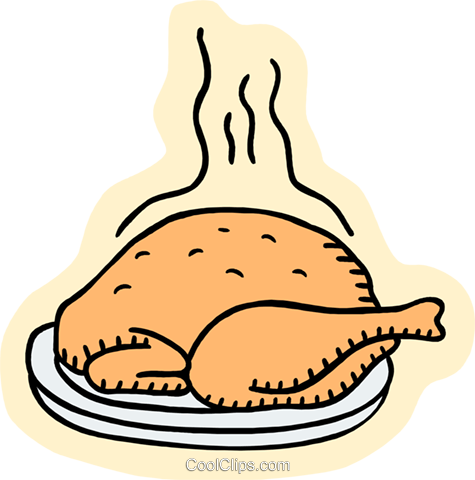food and dining, turkey Royalty Free Vector Clip Art illustration food1123