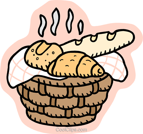 baked goods Royalty Free Vector Clip Art illustration food1127