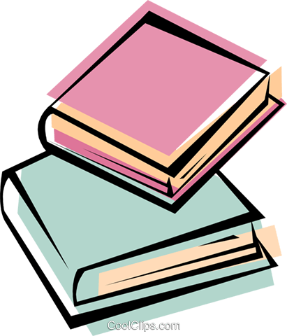 books Royalty Free Vector Clip Art illustration busi1613