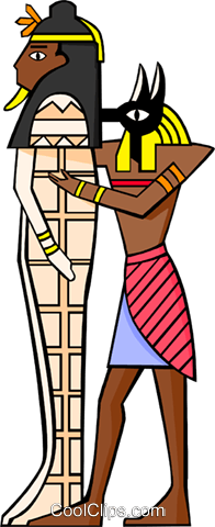 ancient Egypt Royalty Free Vector Clip Art illustration educ0011