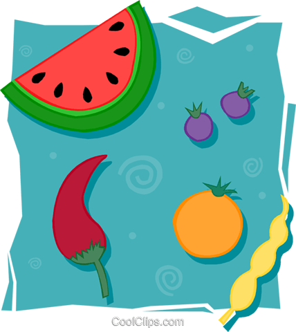 food and dining/fruits Royalty Free Vector Clip Art illustration food1133