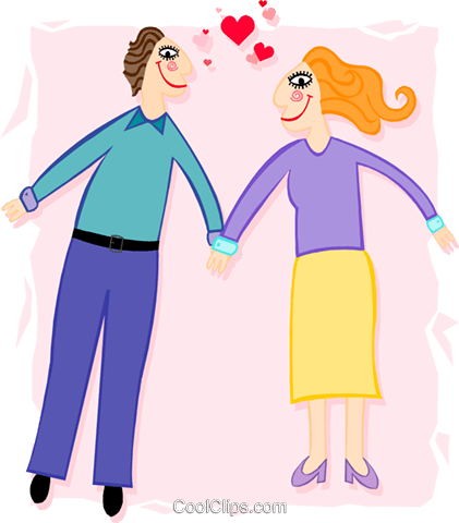 love Royalty Free Vector Clip Art illustration peop3416