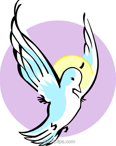 Holy Spirit Royalty Free Vector Clip Art illustration spec0328