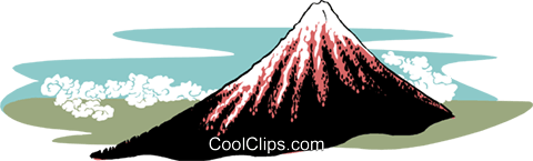mountaintop Royalty Free Vector Clip Art illustration natu0929