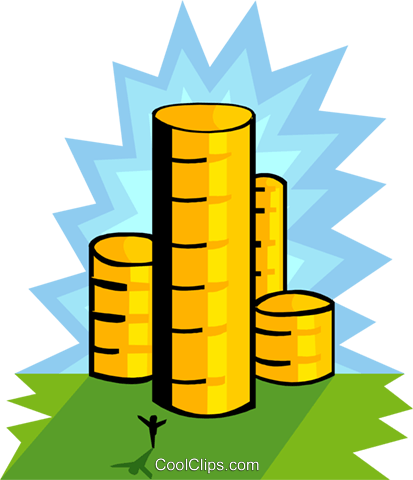 business finance Royalty Free Vector Clip Art illustration busi1642