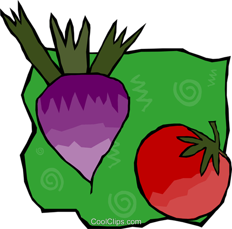beets Royalty Free Vector Clip Art illustration food1171