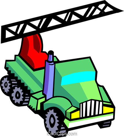 crane truck Royalty Free Vector Clip Art illustration indu0970