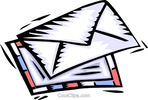 mail Royalty Free Vector Clip Art illustration busi1668