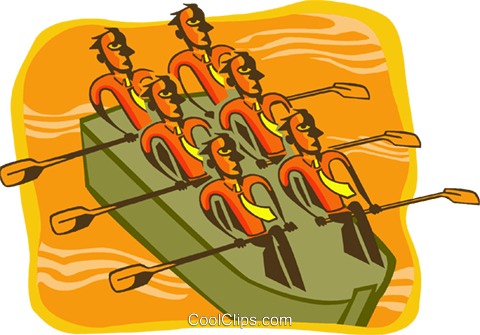 teamwork Royalty Free Vector Clip Art illustration peop3575