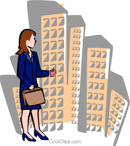 businesswoman Royalty Free Vector Clip Art illustration peop3606