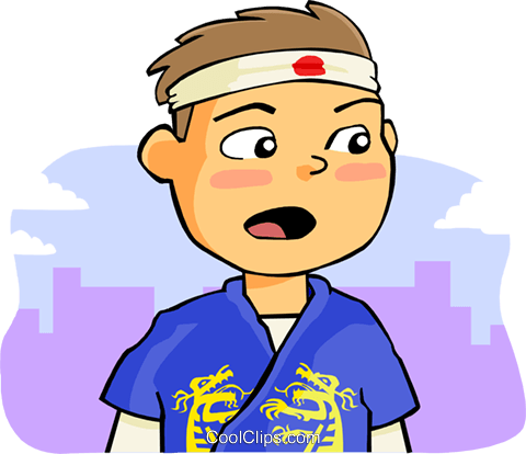 boy Royalty Free Vector Clip Art illustration peop3621