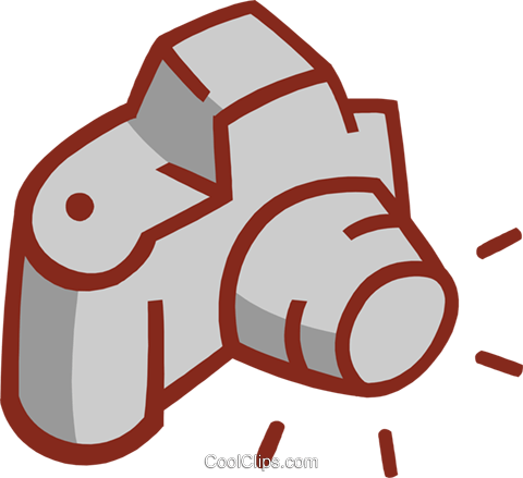 camera Royalty Free Vector Clip Art illustration hous1371