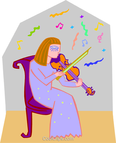 musician Royalty Free Vector Clip Art illustration peop3649