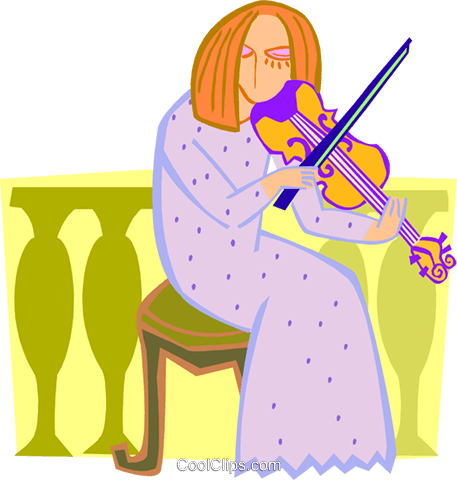 musician Royalty Free Vector Clip Art illustration peop3651