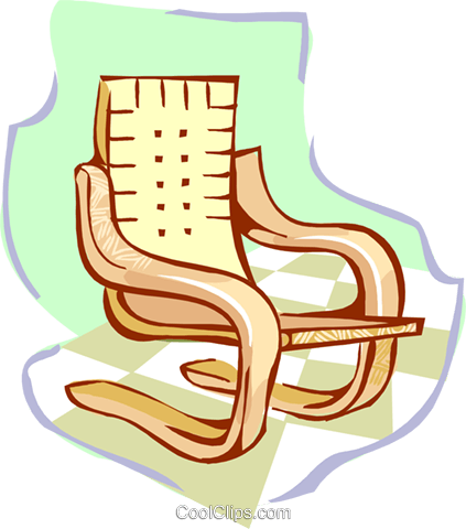 chair Royalty Free Vector Clip Art illustration hous1390