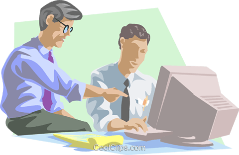 business discussion Royalty Free Vector Clip Art illustration peop3865
