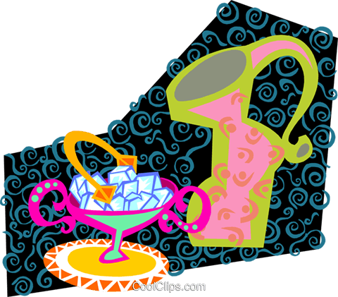 coffee time Royalty Free Vector Clip Art illustration food1209